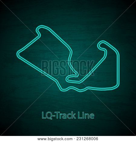 Dark Background With Speed Race Background With Text