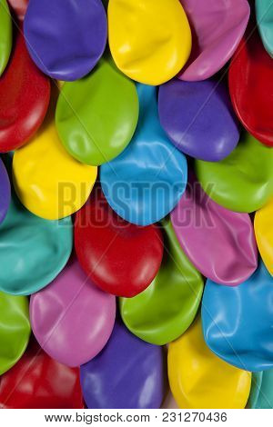 Colorful Deflated Balloons Pattern