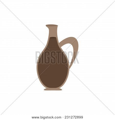 Sauce Icon Flat Symbol. Isolated Vector Illustration Of  Icon Sign Concept For Your Web Site Mobile