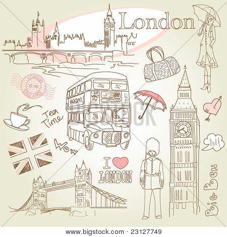Rabiscos de Londres