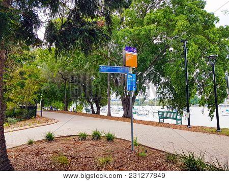 The Central Valley In Brisbane Botanical Garden, Queensland, Australia.