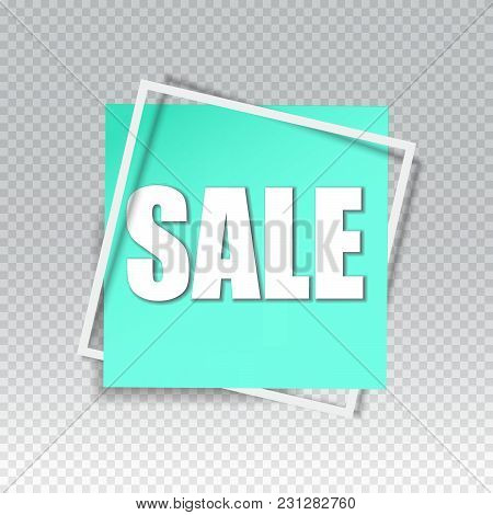 Sale square banner. Black Friday design template. Summer sale sticker. Vector illustration. Big Sale square banner. Sale background. Sale sticker. Eps10. Sale offer.