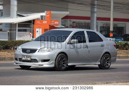 Private Sedan Car Toyota Vios.