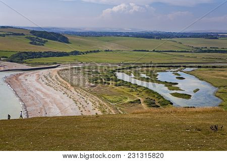 Seven Sisters National Park, Cuckmere River And Country Walks, East Sussex