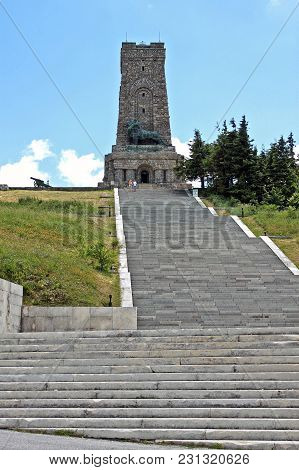 Shipka Pass, Bulgaria - 15 July 2015: Monument Of Liberty. Memorial To The Fallen For The Liberation