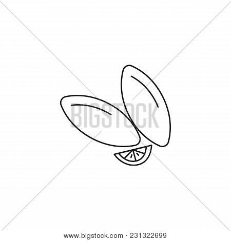 Koupes Icon. Outline Koupes Vector Icon For Web Design Isolated On White Background