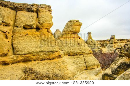 Canadian Badlands, Writing On Stone Provincial Park, Alberta, Canada