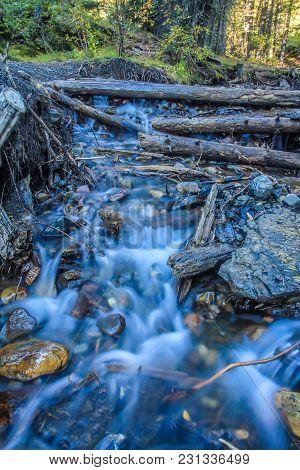 Sheep River Falls, Sheep River Provincial Park, Alberta, Canada