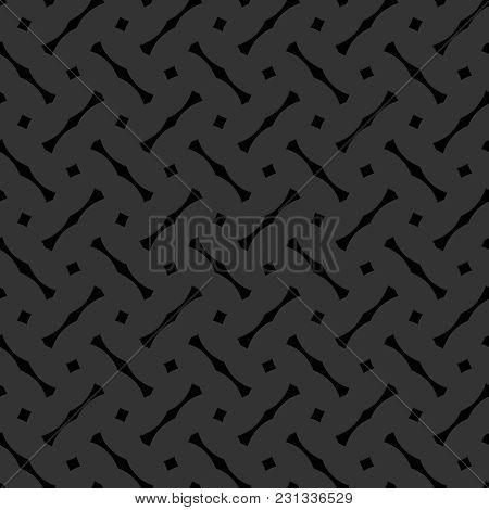 Tile Black And Grey Vector Pattern Or Dark Background Wallpaper