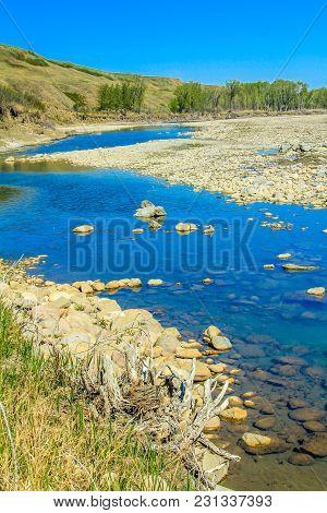 Bow River, Wyndham/carlsland Provincial Park, Alberta, Canada