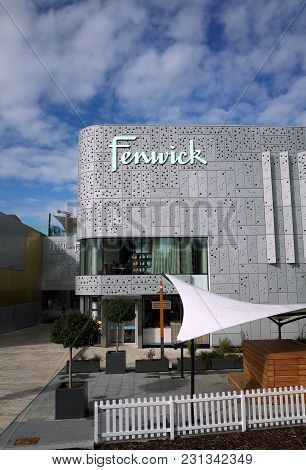Bracknell, England - March 11, 2018: The Fenwick Department Store As Viewed From Town Square, Part O