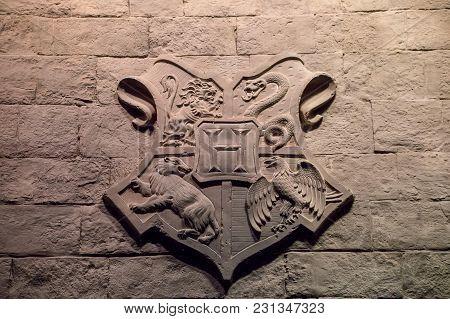 Hogwarts School Crest