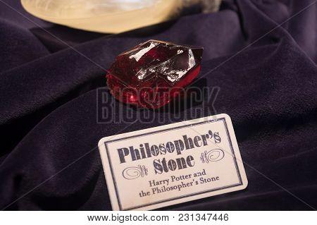 Harry Potter Philosopher's Stone Display