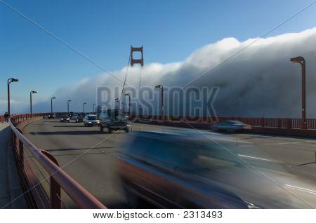 Goldengate Bridge In Fog