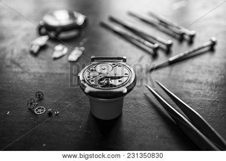 Watchmaker's Workshop, Watch Repair