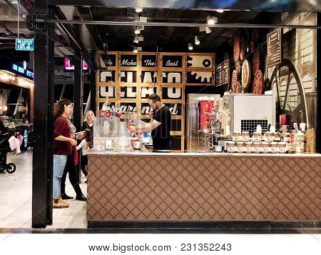 Rishon Le Zion, Israel- December 17, 2017: Inside The Department Store In Rishon Le Zion, Israel.