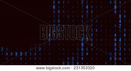 A Modern Design For Digital Wallpaper Design. Concept Business Background. Abstract Technical Backgr
