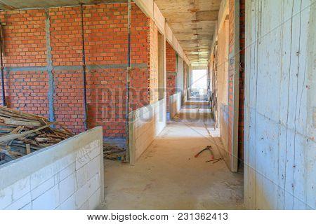 Building Structure Interior Construction Site Development Housing