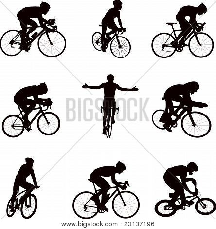Cycling silhouettes