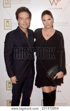 LOS ANGELES - MAR 13:  Richard Marx, Daisy Fuentes at the Fulfillment Fund Gala at Dolby Theater on March 13, 2018 in Los Angeles, CA