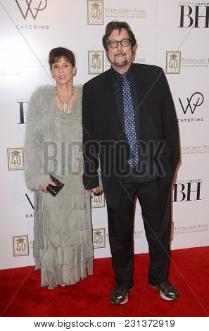 LOS ANGELES - MAR 13:  Lynn Bishop, Stephen Bishop at the Fulfillment Fund Gala at Dolby Theater on March 13, 2018 in Los Angeles, CA