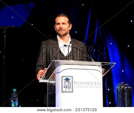 LOS ANGELES - MAR 13:  Bradley Cooper at the Fulfillment Fund Gala at Dolby Theater on March 13, 2018 in Los Angeles, CA