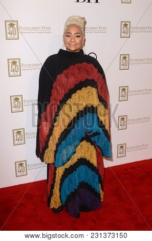 LOS ANGELES - MAR 13:  Raven-Symone at the Fulfillment Fund Gala at Dolby Theater on March 13, 2018 in Los Angeles, CA