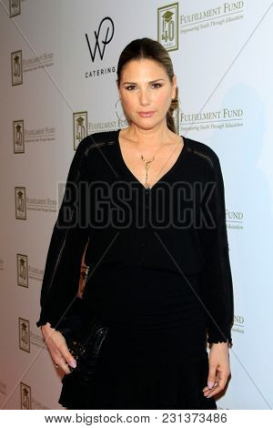 LOS ANGELES - MAR 13:  Daisy Fuentes at the Fulfillment Fund Gala at Dolby Theater on March 13, 2018 in Los Angeles, CA