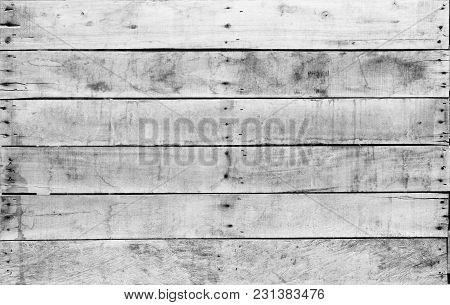 Vintage Background Of Old Wooden Textures Background.