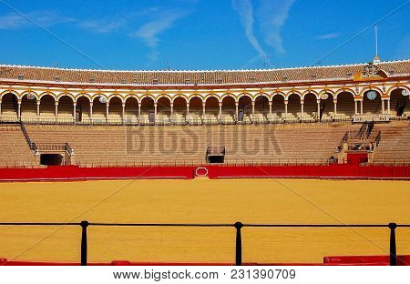 Plaza De Toros De La Maestranza, The Famous Bullring Of Seville - Andalusia, Spain, 29 October 2007