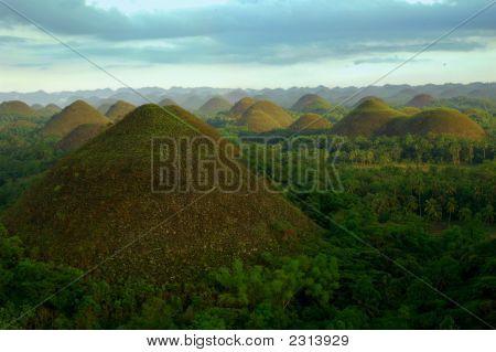 Chocolate Hills auf den Philippinen