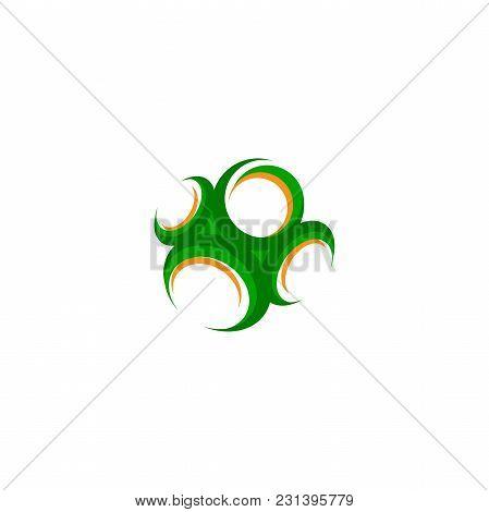 Creative Circle Technology Orbit Web Rings Vector Design. Vector Circle Ring Design. Abstract Circle