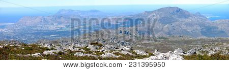 View From The Top Of Table Mountain, Looking Down Onto The Cape Peninsula  01