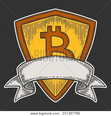 Bitcoin Growth And Increase Stock Vector Image, Digital Currency, Cryptocurrency Money, Bitcoin Symb