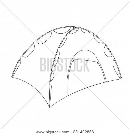 Camping Tent Shelter Vector & Photo (Free Trial) | Bigstock