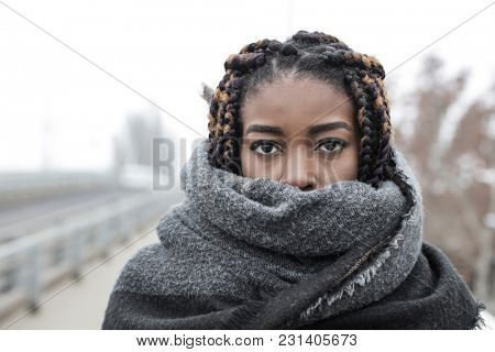 Winter time with a scarf
