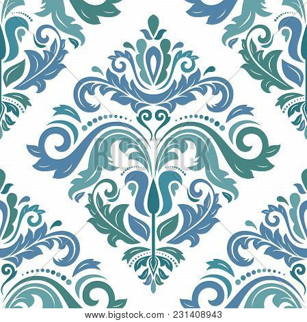 Classic Seamless Pattern. Traditional Orient Ornament. Classic Vintage Background