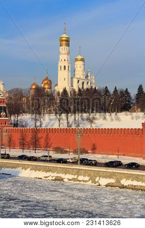 Ivan The Great Bell Tower On The Territory Of Moscow Kremlin