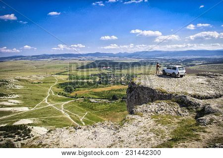 Autotravel To The Crimea. On Vacation By Car.