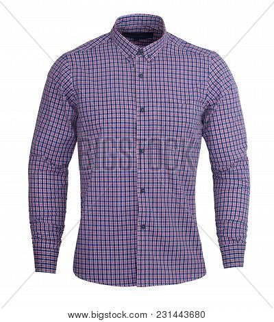 Perfect Dark Purple And Red Check Print Full Sleeves Shirt Gives Formal Look, You Can Wear A Solid P
