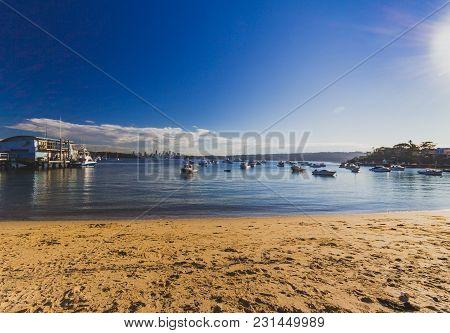 View Of Watson's Bay In Sydney