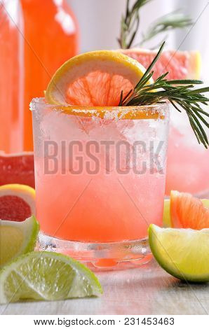 This Magnificent Cocktail Of Fresh Pink Palomas Will Change The Way You Look At Tequila. A Festive D
