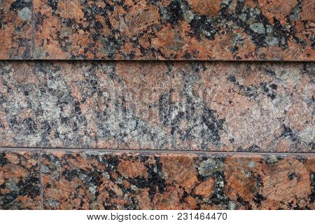 Tiles Of Polished Pink Granite (front View)