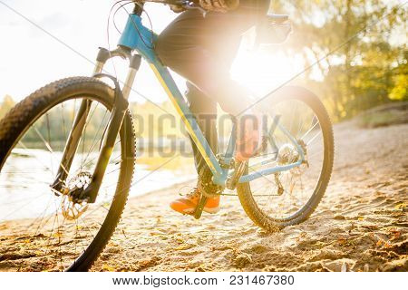 Photo Of Woman Riding Bicycle On Summer Day