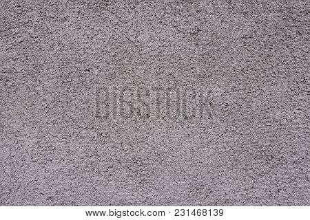 Texture Of Painted Grainy Grayish Pink Wall