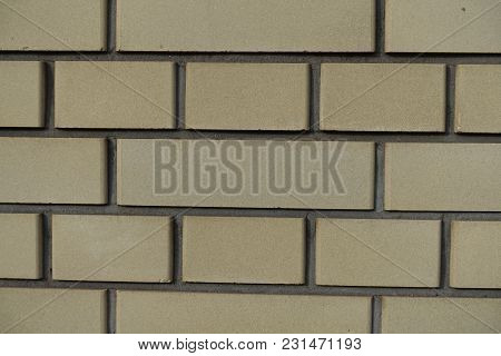 Common Bond Yellow Brickwork Texture (front View)