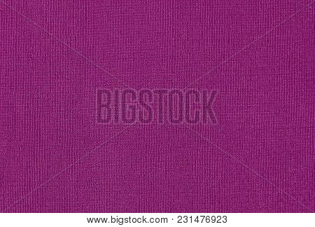 Close Up View Of Purple Fabric Texture And Background