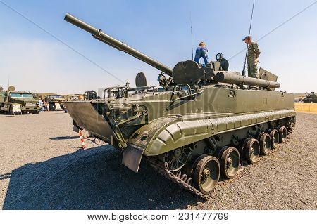 Kadamovskiy Training Ground, Rostov Region, Russia, 26 August 2017: International Military Technical