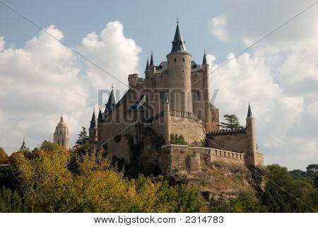 Alcazar (Castle) Of Segovia, Spain