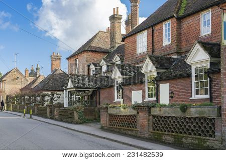 The Historic Hampshire Village Of Selborne  Which Has Become A Major Tourist Spot Due To Its Links W